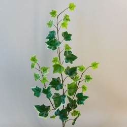 Artificial Variegated Ivy Spray 60cm - IVY017 H4
