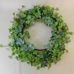 Outdoor Artificial Ivy Wreath 50cm Rain Resistant - IVY049