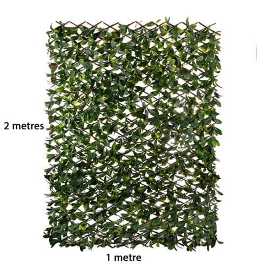 Artificial Laurel | Expandable Fence Panel - LAU002