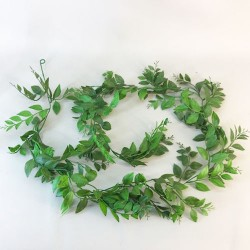 Artificial Laurel Leaves Garland 180cm - LAU003 I3