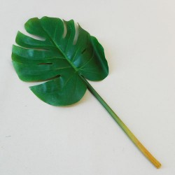 Small Artificial Monstera Leaf on Short Stem - MON005 HH2