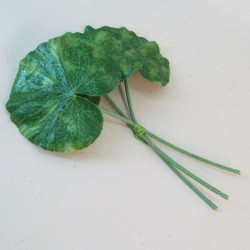 Artificial Lotus Leaves Pack of 3 Small - LOT002