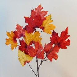 Artificial Maple Leaves Branch Autumn Harvest - MAP001 AA3