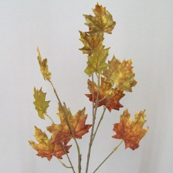 Artificial Maple Leaves Branch Russet - MAP008 K4