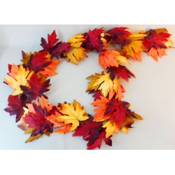 Artificial Maple Leaves Garland Large Leaf - MAP004 EE1