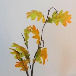 Artificial Oak Leaves Branch Autumn Green - OAK016 EE1
