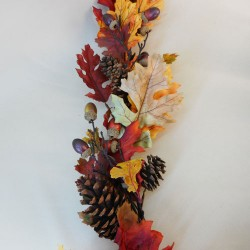 Artificial Oak Leaves Garland Autumn - OAK009 BB3