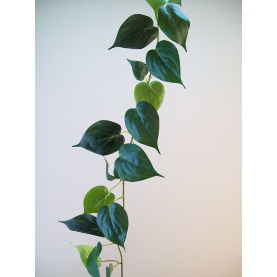 Artificial Philodendron   Morning Glory Leaves Garland - PHI008 J4