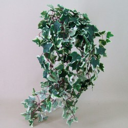 Artificial Trailing Ivy Plant Large Leaf Variegated - IVY026