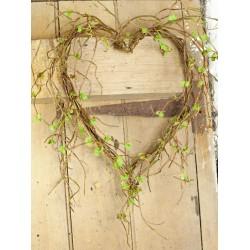 Artificial Wild Willow Heart - MF700-130 BX6