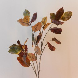 Artificial Birch Leaves Branch Autumn - BIR014 BX10