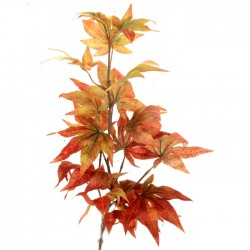 Artificial Japanese Maple Leaves Branch Autumn Harvest - MAP001