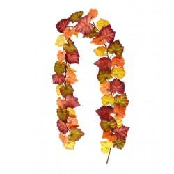 Artificial Autumn Leaves Garland 180cm - AUT004