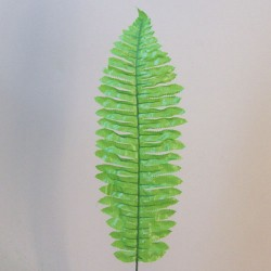 Budget Artificial Boston Fern Leaf Bright Green - BOS008 C1
