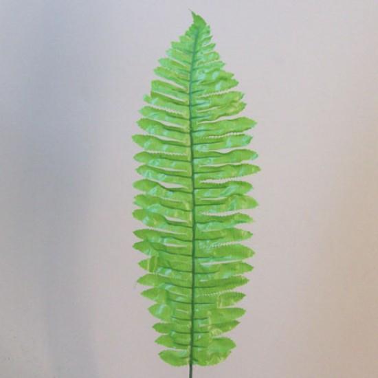 Budget Artificial Boston Fern Leaf Bright Green - BOS008 C1