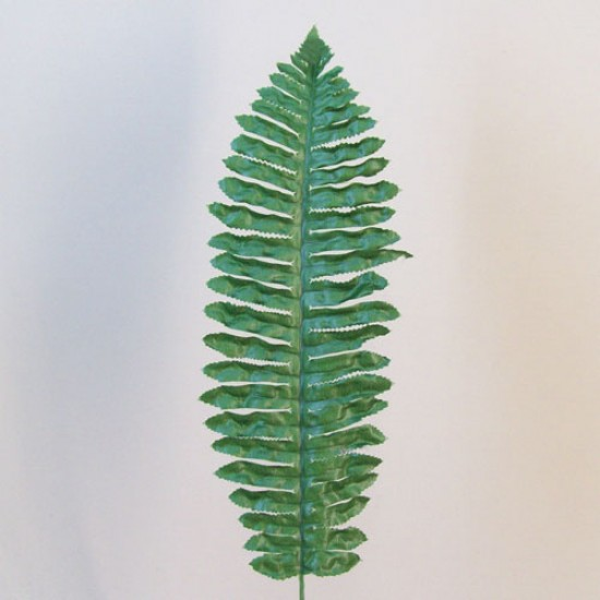 Budget Artificial Boston Fern Leaf Dark Green - BOS007 B1
