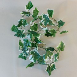Artificial Variegated Ivy Garland Large Leaf 180cm - IVY014