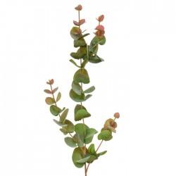 Artificial Eucalyptus Stem Green Pink 80cm - EUC063 G4