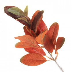 Artificial Ficus Callosa Spray Orange 35cm - FIC012 D2