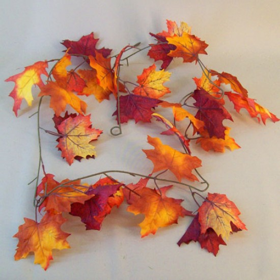Fleur Artificial Maple Leaves Garlands - MAP016 K1