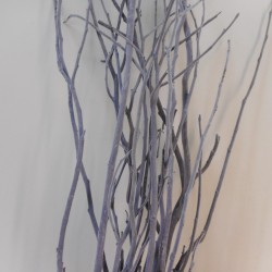 Flocked Branches Bundle Grey 120cm - TWI005