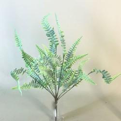 Flocked Fern Plants Pale Green - FER014 F1