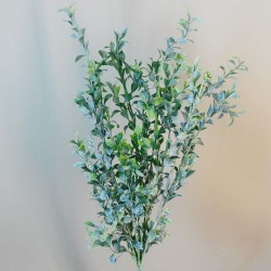Frosted Artificial Boxwood Stem - BOX025 C3