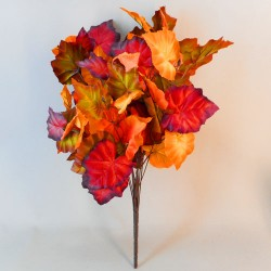 Fleur Large Artificial Maple Leaves Bunch - MAP017 AA2