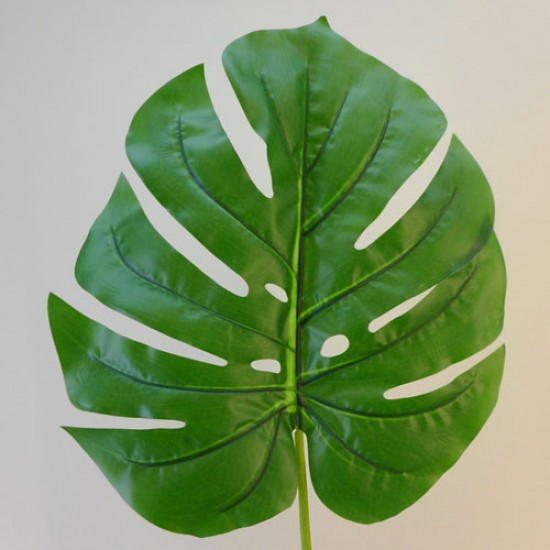 Large Real Touch Artificial Split Philo Leaf Long Stem 105cm - PHI004 K3