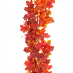 Luxury Artificial Maple Leaves Garland 152cm - MAP007