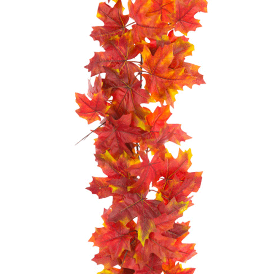 Luxury Artificial Maple Leaves Garland 152cm - MAP007 AA3