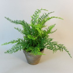 Potted Artificial Lace Fern - FER029 6A