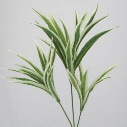Striped Artificial Dracena Leaf Spray - DRA003 C2