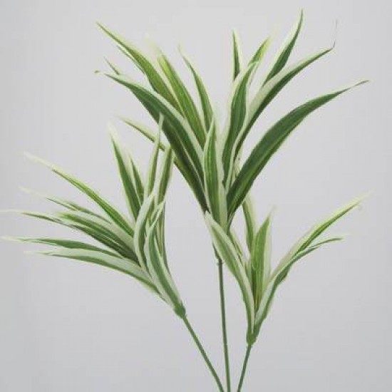 Striped Artificial Dracena Leaf Spray - DRA003 C2