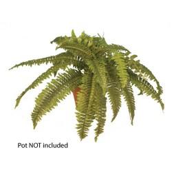 Artificial Boston Fern Plants 24 Leaves - BOS001 B3