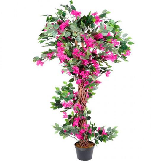 5' Artificial Bougainvillea Tree Pink - BOU008