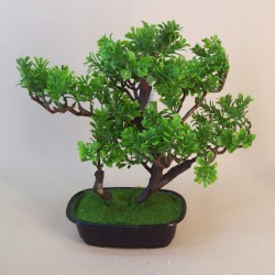 Artificial Boxwood Bonsai Tree - BON001 OFF