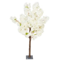 Artificial Cherry Trees Cream Blossom 140cm - CHE009