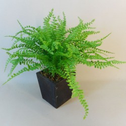 Potted Artificial Fern 40cm - FER060