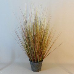 Artificial Plants Potted Grass and Foxtails Cream - FOX001 OFF