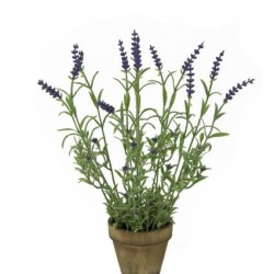 Artificial Plants Potted Artificial Lavender - LAP001 6B