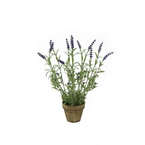 Artificial Plants Potted Artificial Lavender - LAP001 6B