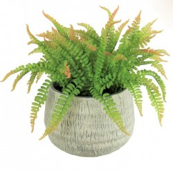 Large Artificial Fern in Stoneware Pot - FER055 FR