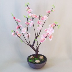Miniature Artificial Cherry Tree Pink - CHE007