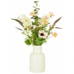 Artificial Flower Arrangement | Anemone and Lilac - ANE001 7C