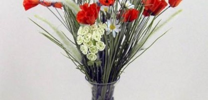 Wild Meadow Flower Inspired Artificial Flowers and Arrangements