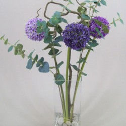 Artificial Allium Flower Arrangement - ALL001 1B