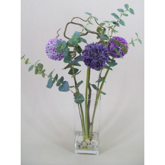 Artificial Allium Flower Arrangement - ALL001 1B