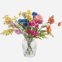 Artificial Flower Arrangement Mixed Garden Flowers - RCV005 2C