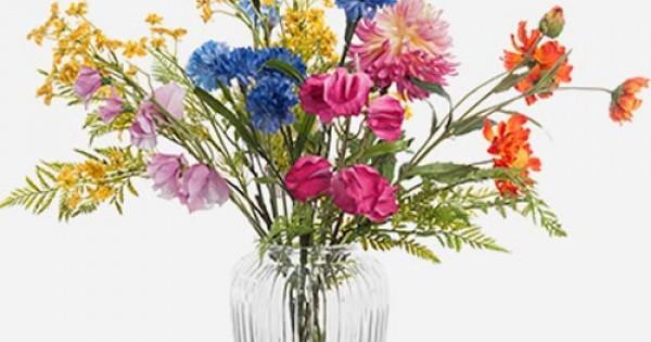 Silk Flower Arrangements Artificial Flower Vases
